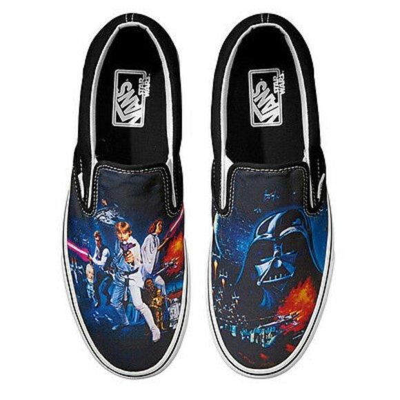 Vans Star Wars Slip On Sneakers